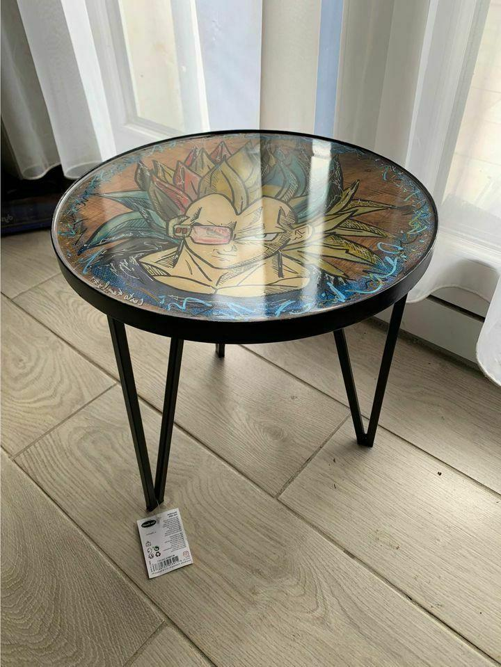 petite table d appoint custo